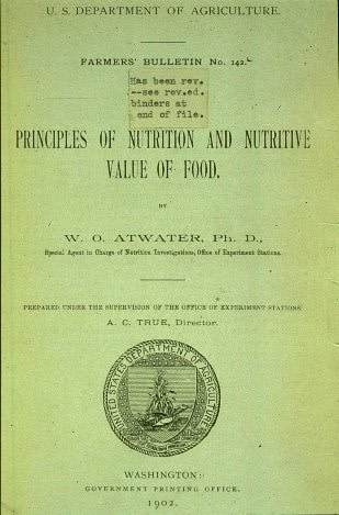 Principles Of Nutrition And Nutritive Value Of Food